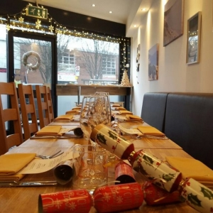 Christmas at Mora restaurant