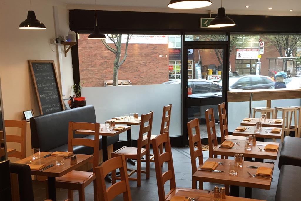 Mora Restaurant entryway