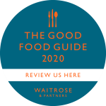 Review us on the Good Food Guide